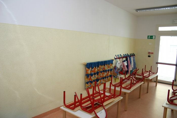 aula attività sezione 3 anni