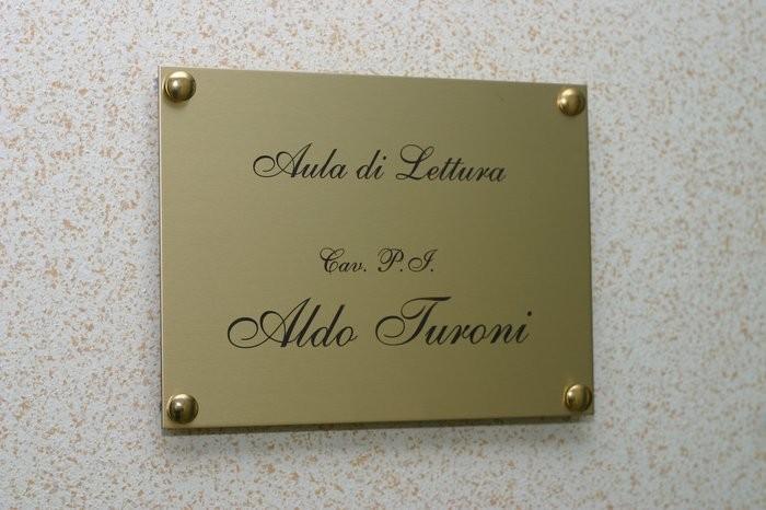 Targa Aldo Turoni