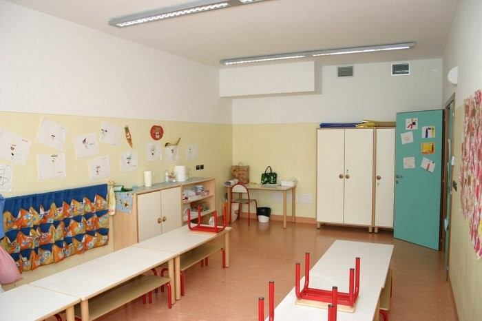 aula attività sezione 4-5 anni